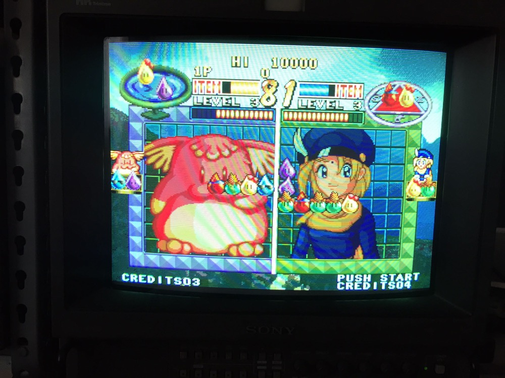 Neo Geo MVS game card : Oshidashi Zintrick напольная плитка ceramika konskie neo geo verona gres szkliwiony 33 3x33 3
