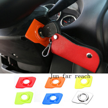 ABS Car Engine Start Stop Ignition Key Cover Ring Trim for Jeep Wrangler/Compass/Patriot