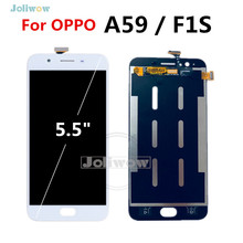 100% Test For OPPO F1S LCD Display with Touch Screen Digitizer Replacement Parts + Tools A59 A1601