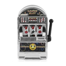 Mini Casino Jackpot Fruit Slot Machine Money Box Game Toy For Kids Adult Decompression Toys Slot Machine Toy black knight gambling game board wms nxt casino game pcb support touch screen and bill accepter for slot coin operator machine
