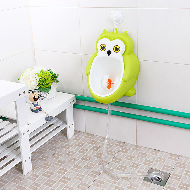 Baby boy Urinal Pee Frog and Owl baby toilet training Colored Children Potty Baby Urine Groove PP hooked Urinal for kids (14)
