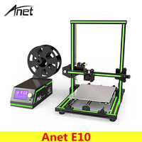 Original Anet E10 3D Printer Set DIY 220 270 300mm 0 4mm Nozzle LCD Screen 3D