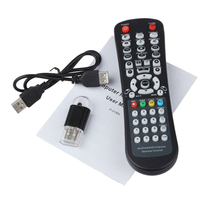 Good Application USB Wireless Media Desktop PC Remote Control Controller Combos For XP Vista 7 Jan16 dobe tyx 539 media remote controller