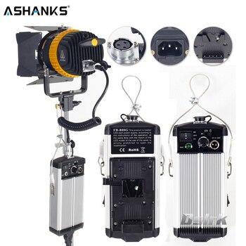 ASHANKS MINI 80W Dimmer Bi-color LED Spotlight for Camera Studio Video Continuous Light Photography 3200K/5600K Spot Light