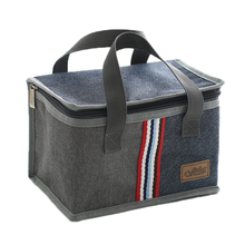 Denim Large Ice Cooler font b Bags b font Insulated Pack Drink Food Thermal Leisure Handbag
