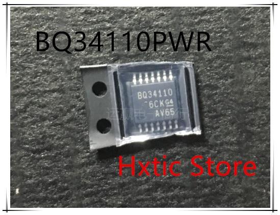 10pcs/lot BQ34110PWR BQ34110 TSSOP-14 IC
