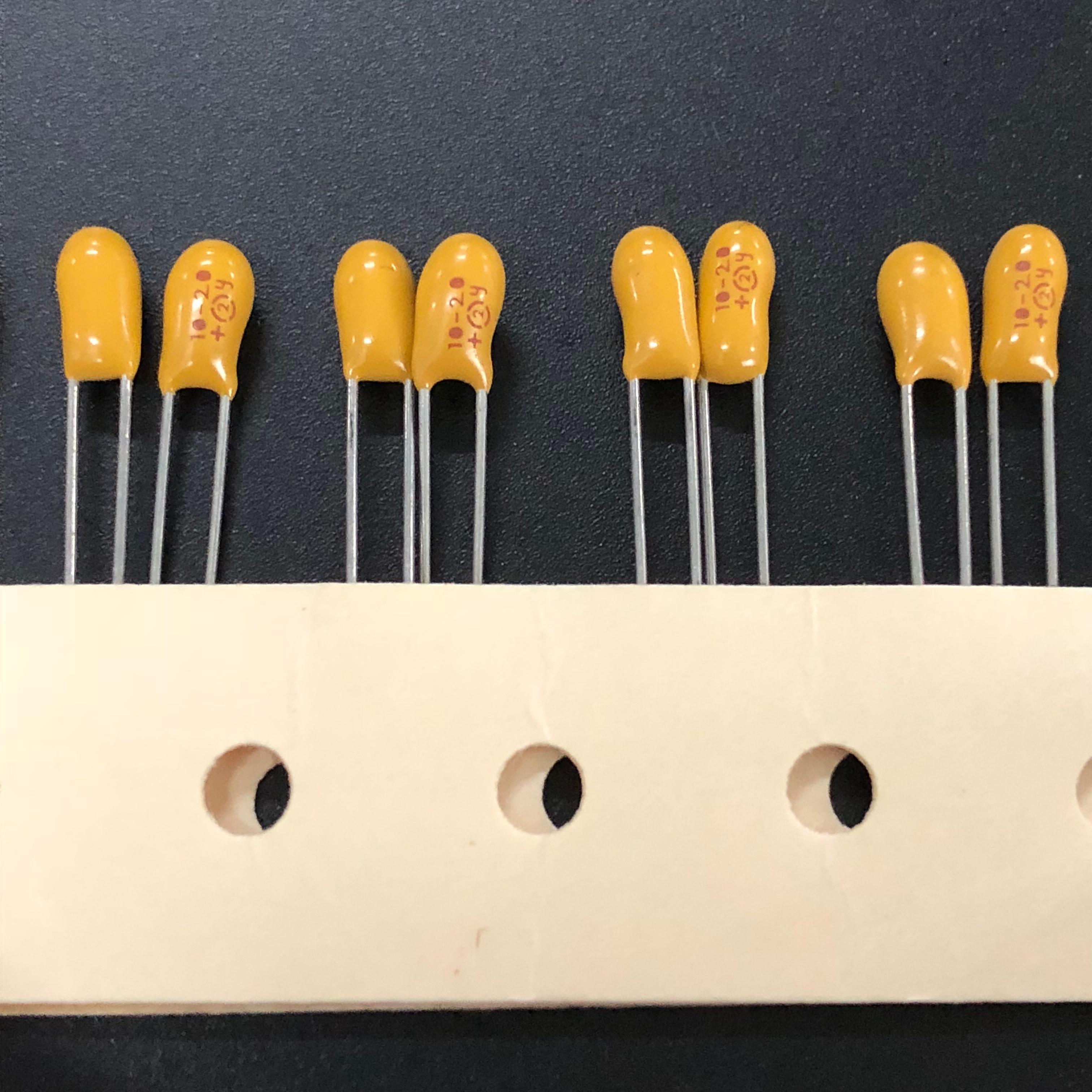 30pcs 25V 22uF 25V Radial DIP Tantalum Capacitor