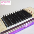 Eyelashes Extension All Size False Mink maquiagem Makeup Lashes Black B/C/D Curl 4trays