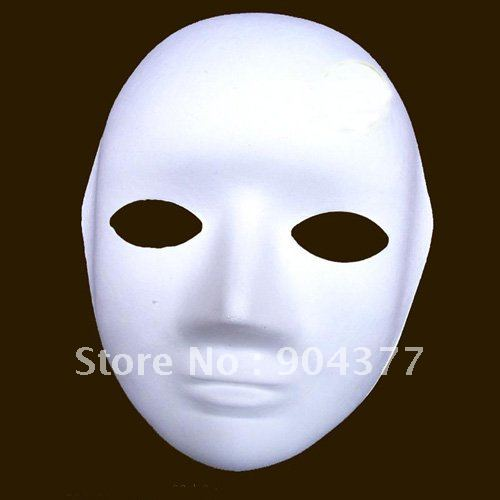 Free Shipping Plain White Masks To Decorate Full Face Paper Mache Mesmerizing Paper Mache Masks To Decorate