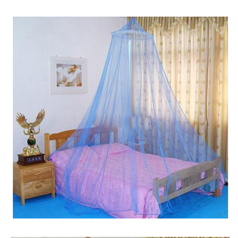 Mosquito Nets Curtain for Bedding Set Sleeping Princess Bed Canopy Bed Netting Tent Mosquiteiros De Teto Color sent Random