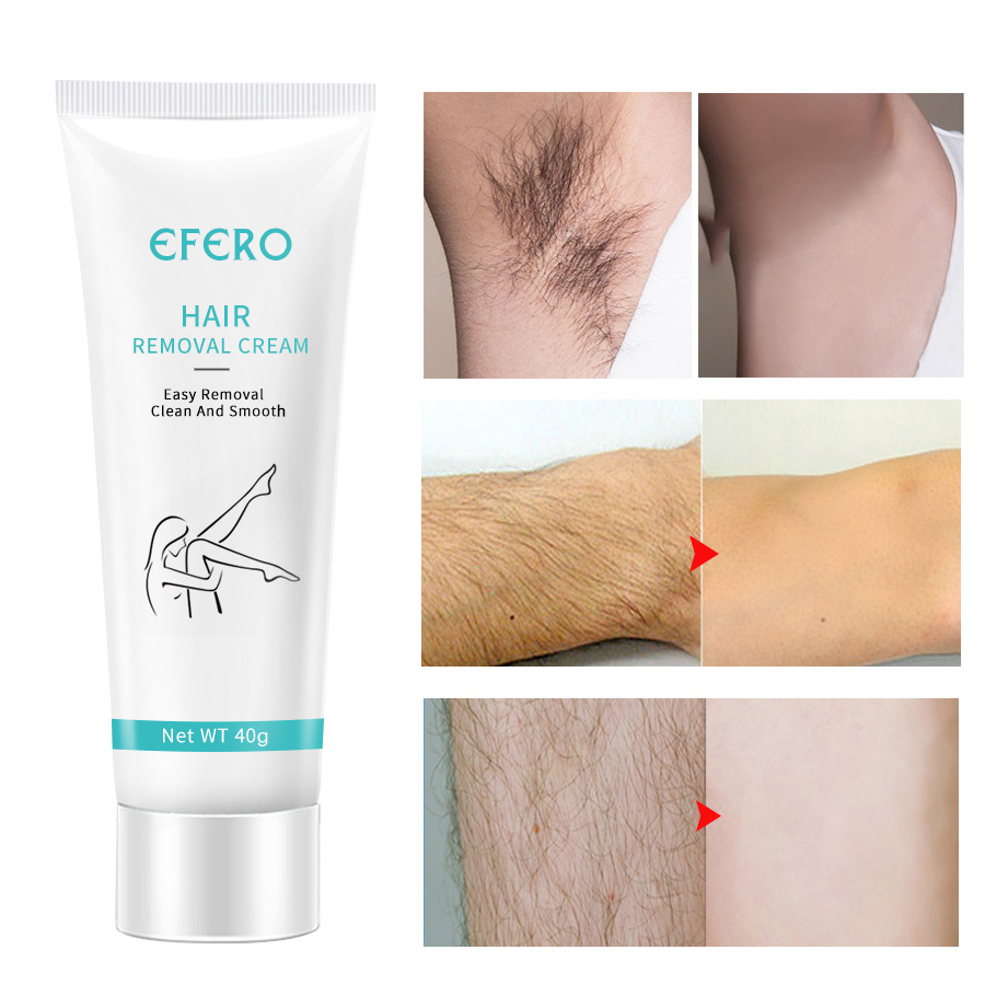 Depilatory Cream Underarm Hair Removal Cream For Women Men Hair Loss Cream Easy Removal Clean And Smooth Hand Leg Hair Removal