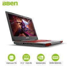 17.3inch Gaming Laptop 32GB/256GB SSD+2TB HDD quad cores intel i7 7700HQ wifi GTX1060 6G windows10 notebook
