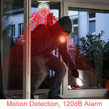 P6 Welcome Alarm Chime Wireless Security Protection Infrared IR Motion Sensor Door bell Alarm Doorbell+Remote Controller
