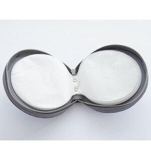 Image 5 - Ymjywl חדש אופנה רכב סריג CD תיבת עבור DVD מקרה אספקת רכב תיבת אחסון בית רכב מחזיק באיכות גבוהה עור CD תיק