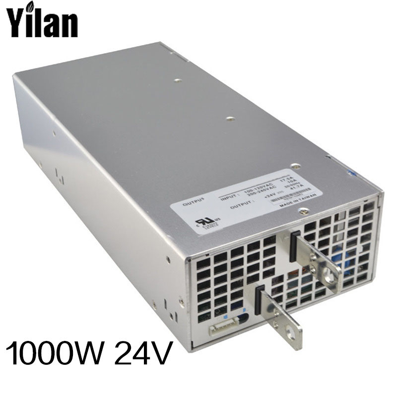 1000W 24V 42A 220V INPUT Single Output Big Switching power supply for LED Strip light AC to DC best quality 12v 15a 180w switching power supply driver for led strip ac 100 240v input to dc 12v