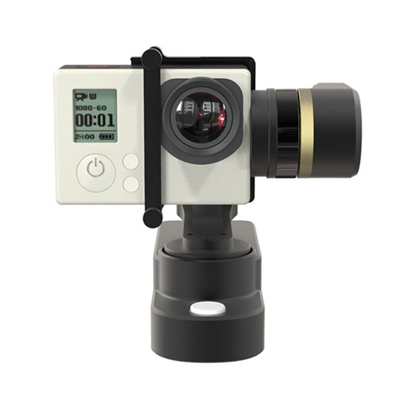 FeiYu Tech FY-WG 3-axis Wearable Gimbal For GoPro HERO 4 / 3 + / 3 Camera original feiyu tech fy wg lite wg series mental single axis wearable gimbal in stock