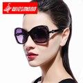 Sun glasses female fashion driving mirror lenses big box polarized sunglasses EXIA AGENT-18