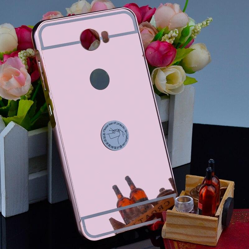 Для Huawei Y5 II Чехол розовое золото Покрытие зеркального блеска протектор телефона чехол для Huawei Y5ii крышка СПС Huawei Y5 2 Чехол <font><b>Y52</b></font> fu308