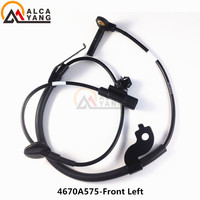 Malcayang Front Left ABS Wheel Speed Sensor For MITSUBISHI PAJERO LANCER OUTLANDER ASX 4670A575 4670A031 SU12583