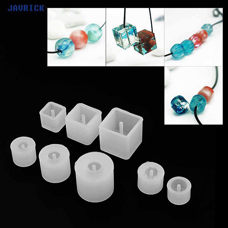 JAVRICK силиконовые DIY бусины браслет-шаблон украшение с подвеской изготовление прессформы смолы ремесло инструмент