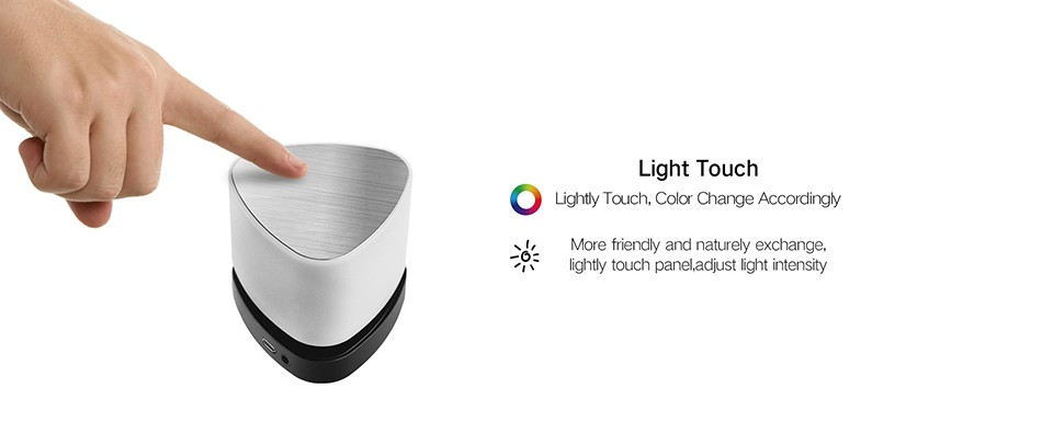 OVEVO FANTASY PRO Z1 SMART FOCUS LED SPEAKER LIGHT INTELLIGENT MULTI-COLOR LED TOUCH CONTROL LAMP BLUETOOTH 4 5