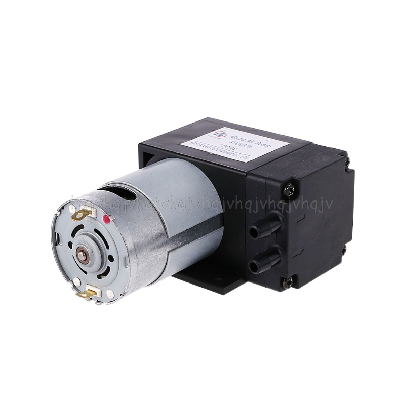 12V Mini Vacuum Pump 8L/min High Pressure Suction Diaphragm Pumps With Holder JUN20 Dropship