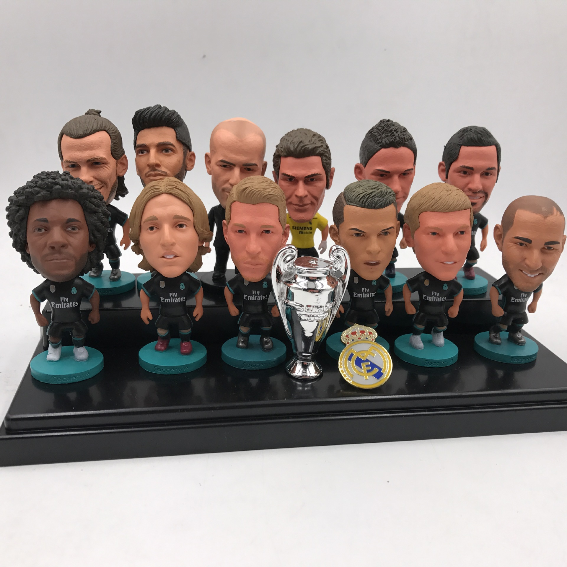Soccerwe Spain Club Soccer Star Lovely Action Figures Toys Fans Collection Football Dolls Gift C Ronaldo Benzema Isco Ramos Bale