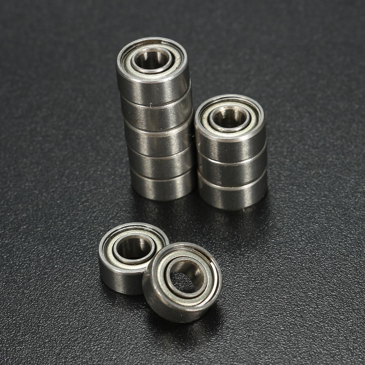10 PCS/set Miniature 684ZZ 4*9*4 mm Ball Bearings Motor Quadcopter Bearing steel все цены