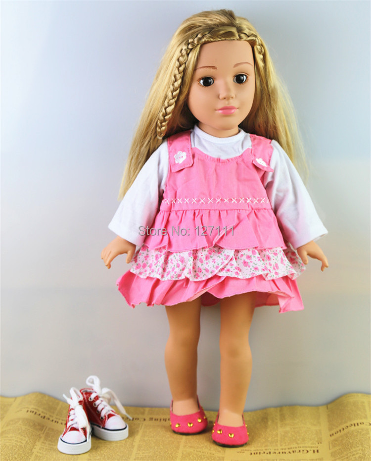 New Fashion Style Popular 18 Girl Doll Clothes American Princess Doll Clothes For 18 Inch Dolls