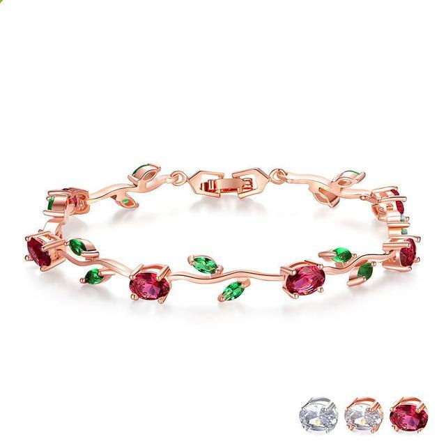 Aaa+ Women's Jewelry Leaf...
