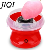JIQI Electric DIY Sweet Cotton Candy Maker Machine MINI Portable Cotton Sugar Floss Girl Boy Gift