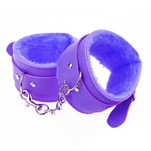 Image 5 - ドミ調整可能な pu レザーぬいぐるみ手錠足首カフカップルのための拘束緊縛セックスボンデージエキゾチックアクセサリー大人のおもちゃ