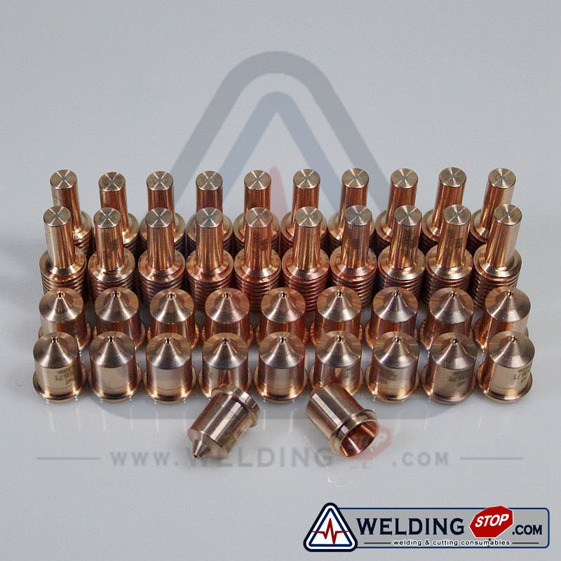 Powermax45 Cutting Torch Consumables Tips Electrodes 220669+220671 45Amp 40pcs pack