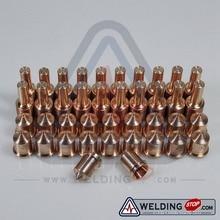 220669 + 220671 HMX 45 режущий факел, расходные материалы, наконечники электроды 45 Ампер, 40 шт. в упаковке