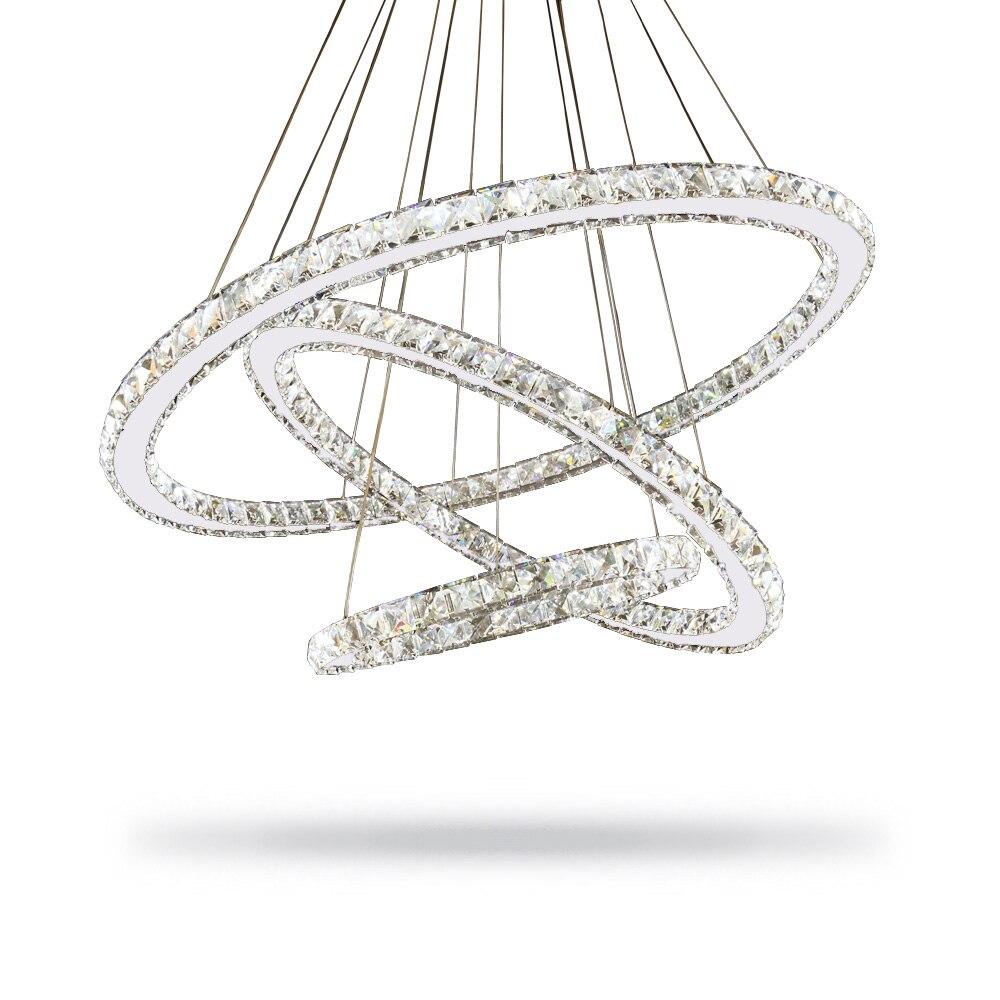 Современный блеск Led хрустальная люстра освещение люстры свет Lamparas де Techo Hanglamp подвесной светильник Lampen