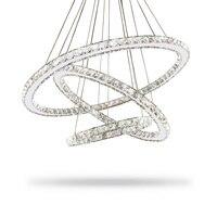 Modern Lustre Led Crystal Chandelier Lighting Ceiling Chandeliers Light Lamparas De Techo Hanglamp Suspension Luminaire Lampen