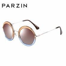 df77144dc PARZIN ÓCULOS Marca Designer Óculos Geométricos Para As Mulheres Qualidade Polarizada  Óculos de Sol Dos Olhos usar óculos de Con.