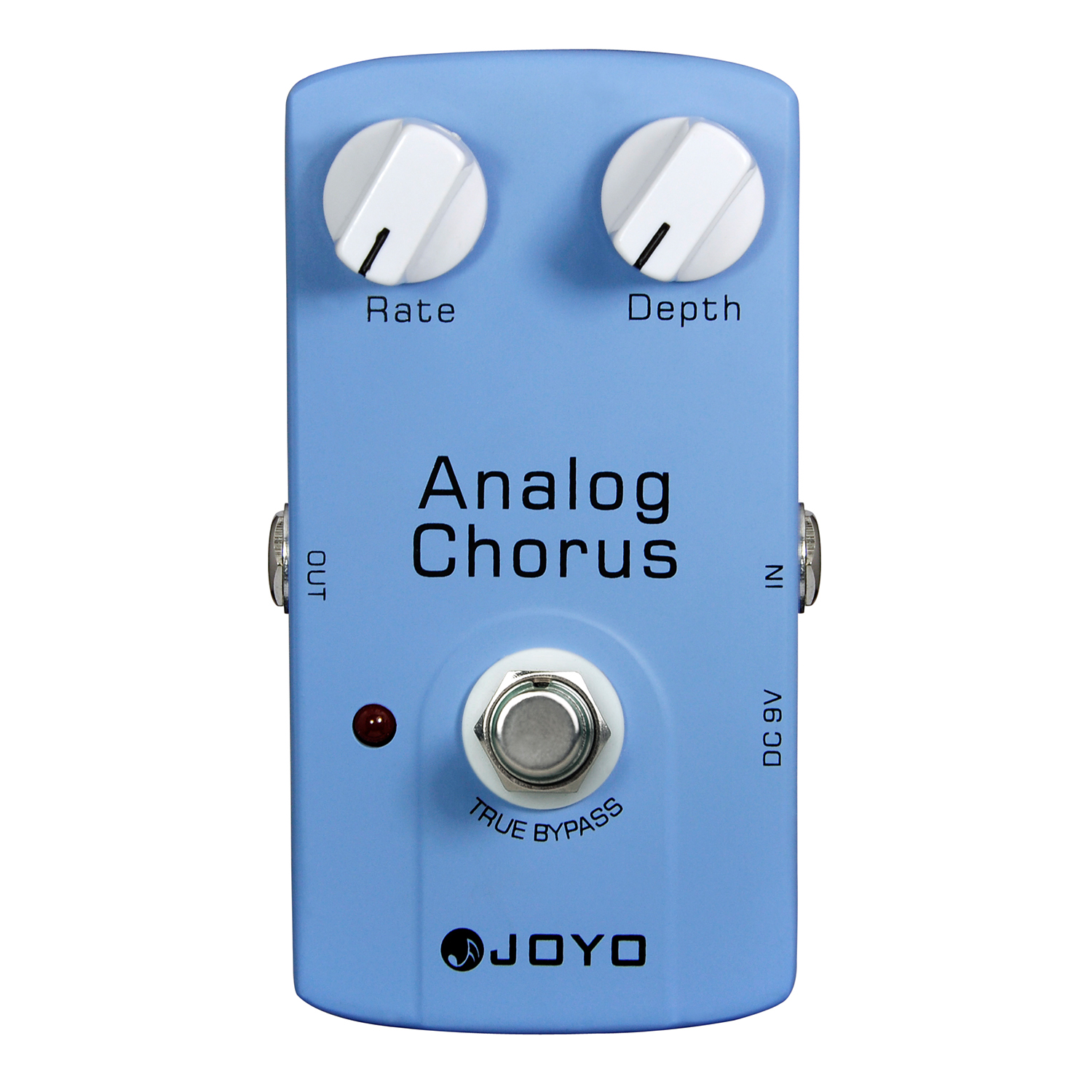 JOYO JF-37 Analog Chorus Electric Guitar Effect Pedal True Bypass JF 37 joyo jf 37 analog chorus electric guitar effect pedal true bypass design adjustable tone