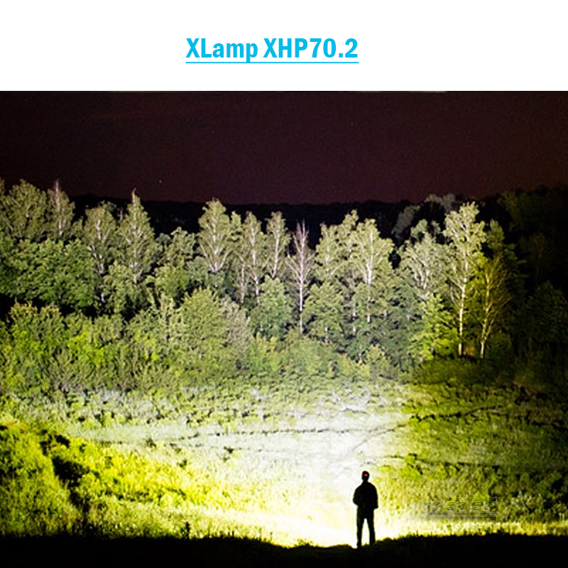 Image 5 - 100000lumens xhp70.2 ultra high power flashlight usb Zoom led torch lamp hunting xhp70 xhp50 18650 or 26650 Rechargeable battery-in LED Flashlights from Lights & Lighting