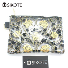 SIKOTE Portable Women's Cosmetic Bags Fashion Printed Travelling Bag Storage Waterproof Washbag Female Make up Bags For Mujer