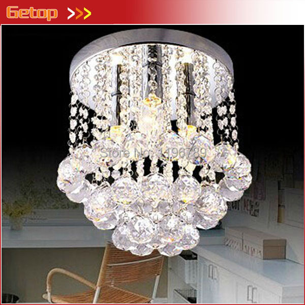 ФОТО Luxury Modern Crystal Lights Aisle Lights Creative Porch Lights Crystal Ceiling Chandelier Lighting Fixtures Free Shipping