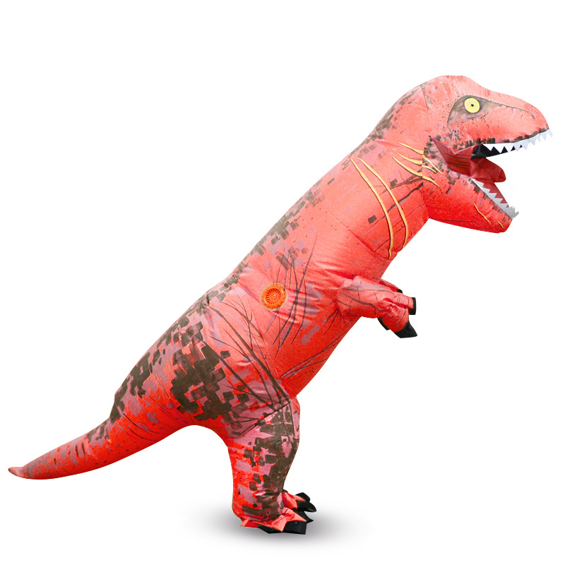 Children T REX Inflatable Costume Christmas Cosplay Costumes Dinosaur Costume Animal Jumpsuit  Kids Party Event Props Funny