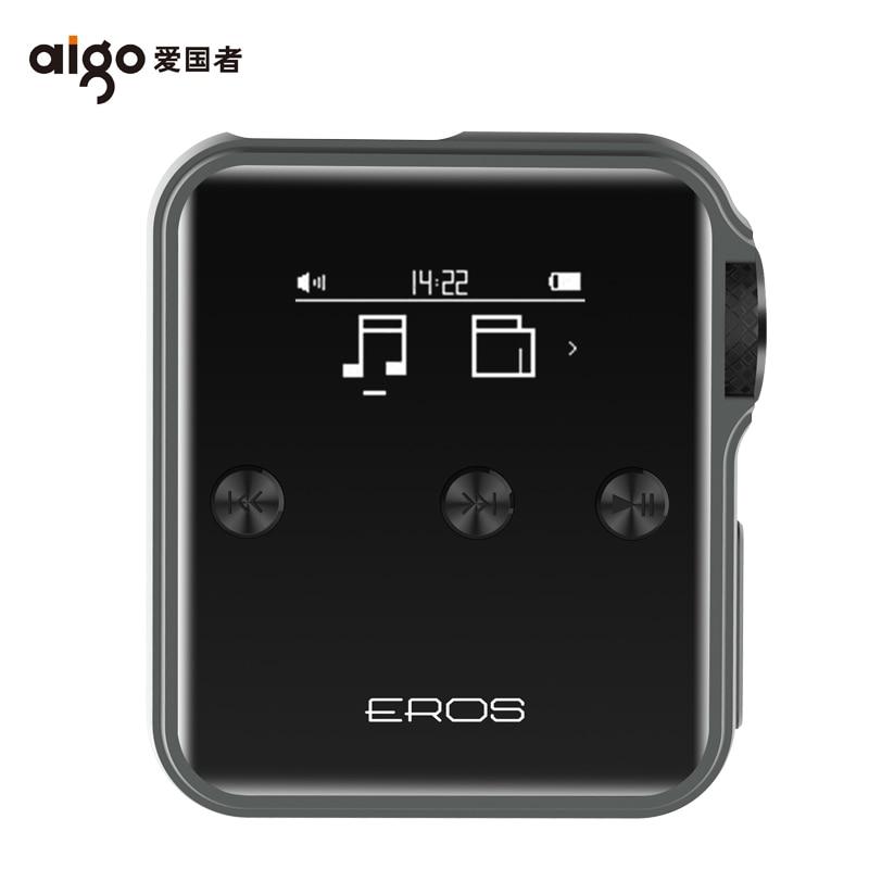 Aigo EROS J Hifi Player Lossless Bluetooth 4.0 MP3 Player USB DSD Professional DAC Flac Audio Music Mini OTG Support 128G TF цена и фото
