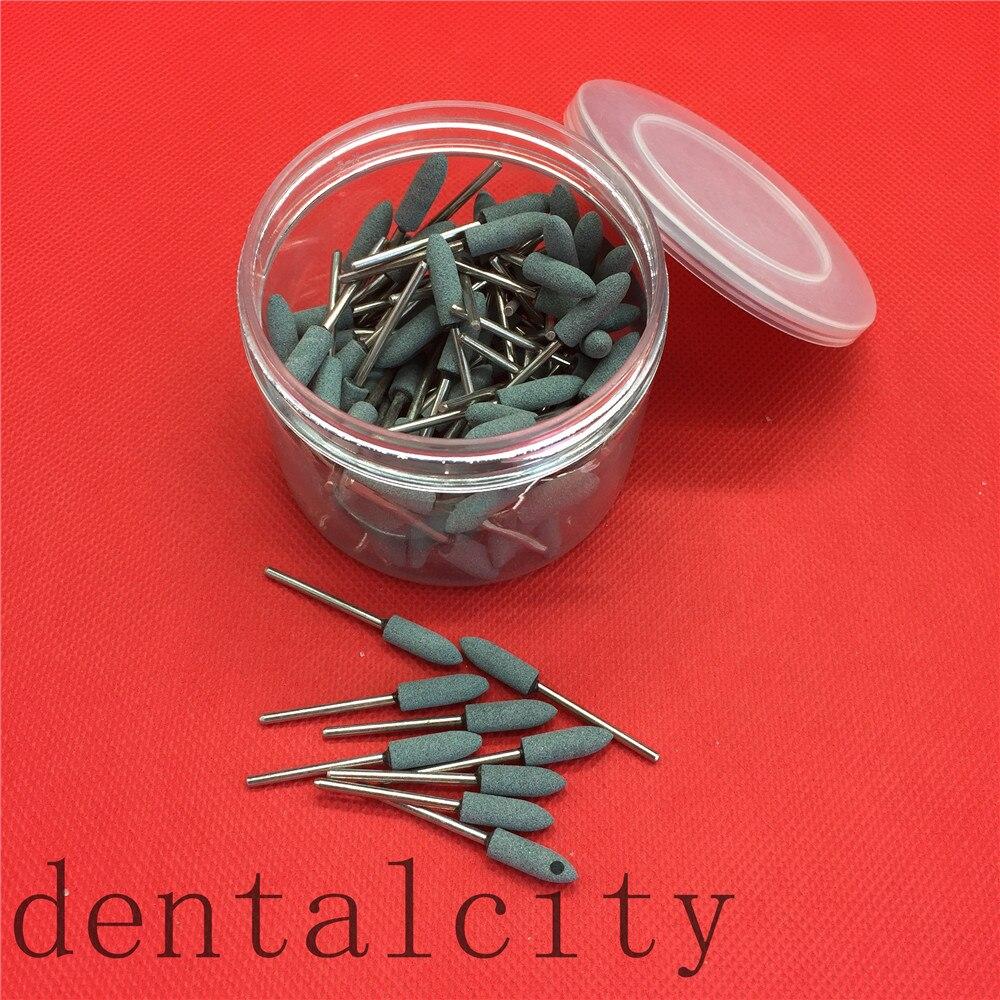 100 Pcs/lot,Dental Lab Materials Stone Sand-Gravel Abrasive,Grinding Tips,good Quality,shank Diameter:2.35mm New