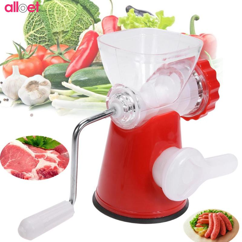 Multifunction Meat Grinder High Quality Stainless Steel Blade Home Cooking Machine Mincer Sausage Machine stainless steel manual cut meat machine