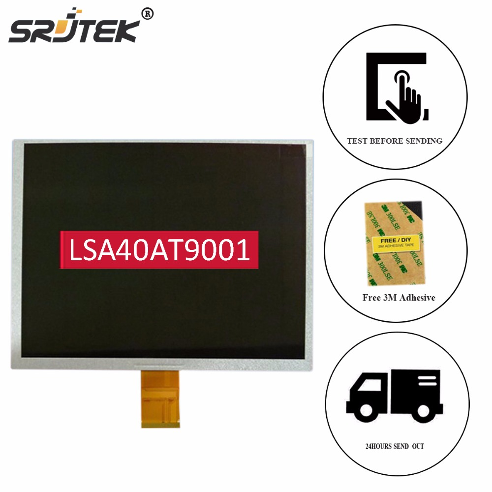 Srjtek 10.4 For NoEnName_Null CHIMEI TFT LCD Screen LSA40AT9001 SVGA 800(RGB)*600 LCD Display Matrix Replacement original chimei 3 5inch tft lcd screen lq035nc111 320 240 resolution free shipping