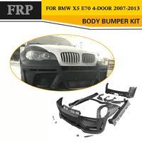 FRP Неокрашенный Авто кузова автомобиля kit наборы для модификации для BMW E70 X5 2008 2013