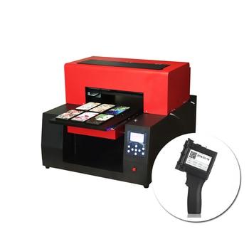 A3 Size UV Printer Automatic A3 UV Flatebed Printing Machine For Phone Case TPU Glass Metal &Handheld Mini Touch Screen Printer