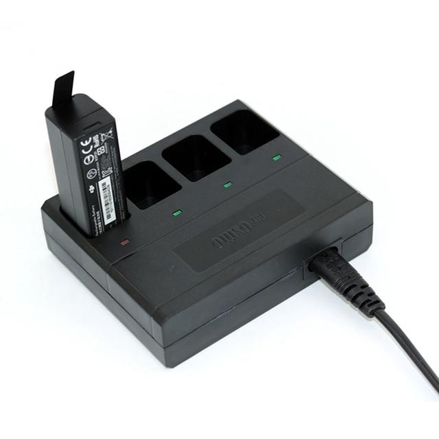 Rápida 4 en 1 Cargador de Batería para DJI OSMO/OSMO Cardán Cámara Móvil de carga de la Batería es necesario