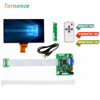 7''Inches 1024*600 IPS Screen Display LCD TFT Monitor EJ070NA 01J with Remote Driver Control Board 2AV HDMI VGA for Raspberry Pi